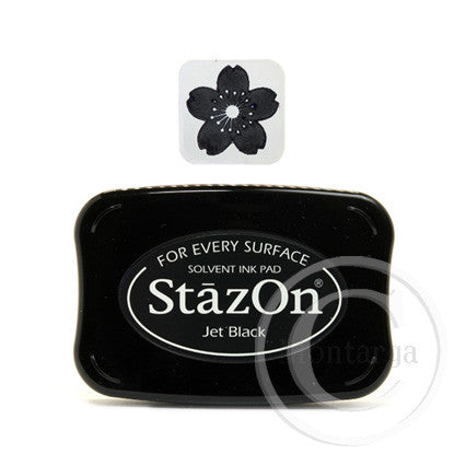 StazOn - Jet Black Pad