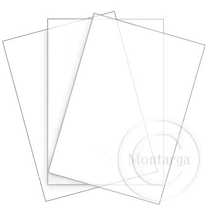 Acetate - A4 - Thick pack of 3