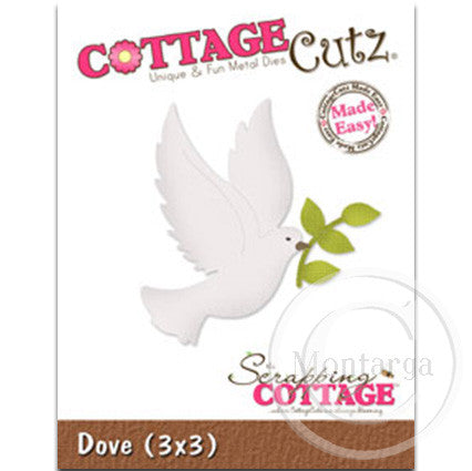 Dove CC3x3-005 - Cottage Cutz Die
