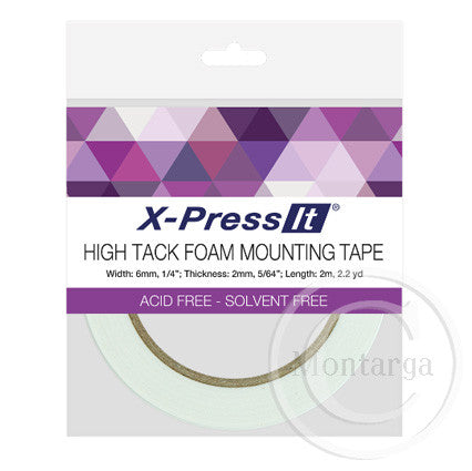 X-Press It High Tack Foam Tape 6mm