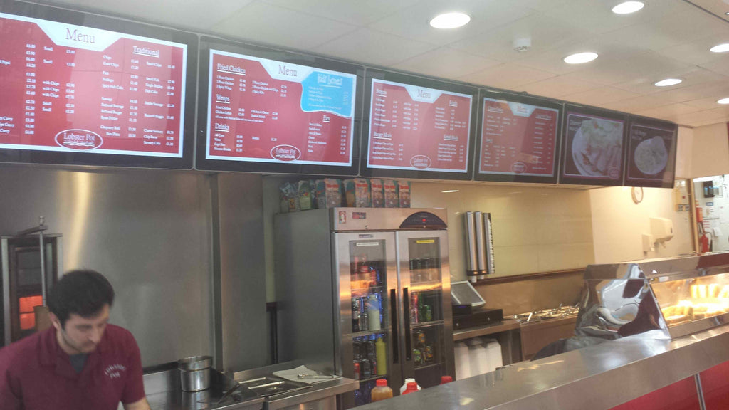 "42"" digital menu boards"