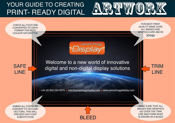 infographic - guide to creating print ready digital artwork