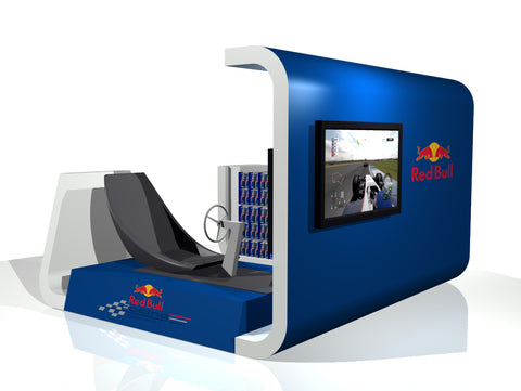 Red Bull F1 In-store Gaming Experience — JHD