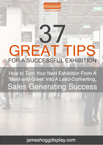 front cover of 37 great tips for a successful exhibition