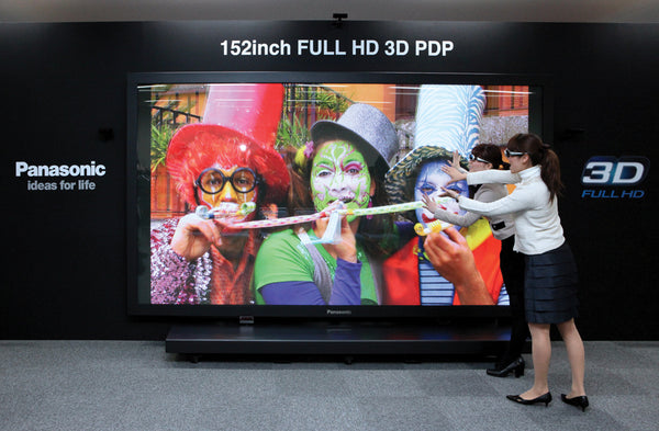 "150"" single large format digital display screen"