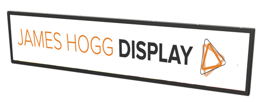 "28"" Stretched Screen Digital Aisle Top Display"