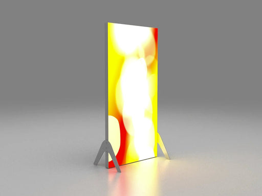 Fabric Faced Free-standing Light Box