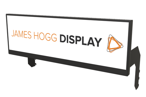 "36"" Stretched Screen Digital Header Display"