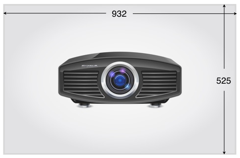 "42"" Interactive projection film and projector"