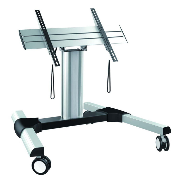 Touch screen tilting floor trolley
