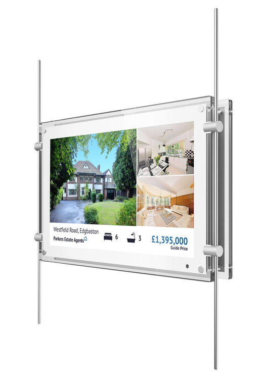 "15"" Digital Rod Powered Window Display"