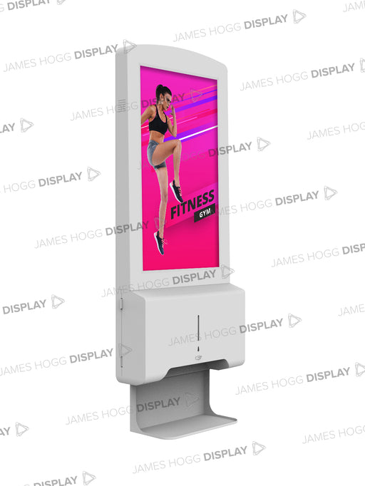 "22"" Digital Hand Sanitiser Display Dispenser"