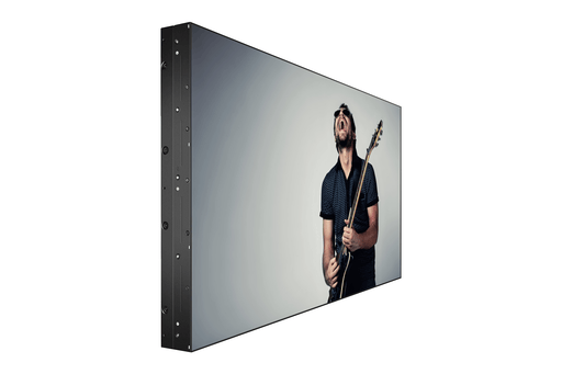 "Three quarter view of 49"" Video Wall Panel"
