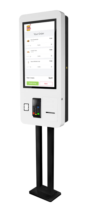 "27"" PCAP Touch screen self service kiosk"