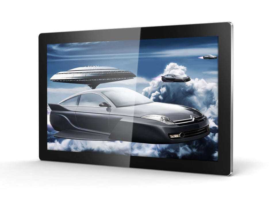 "43"" LED Digital Advertising Display in landscape perspective"