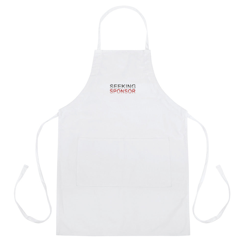 Seeking Sponsor - Embroidered Apron