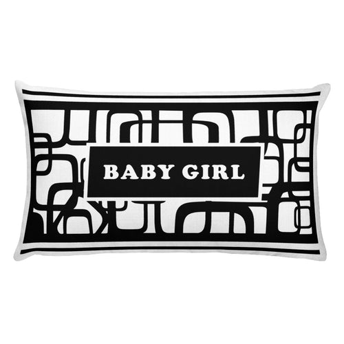 Baby Girl Premium Pillow