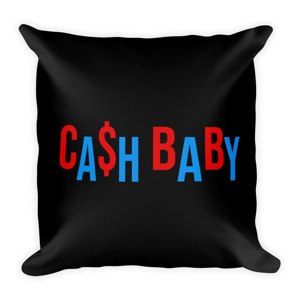 Cash Baby - Throw Pillow