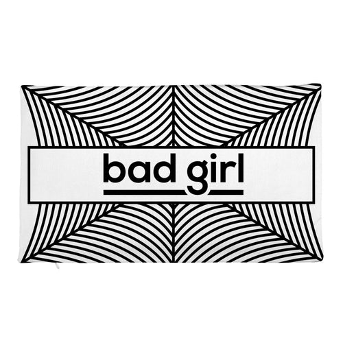 Bad Girl - Pillow Case only