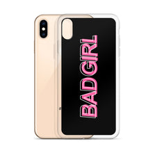 Load image into Gallery viewer, Bad Girl - iPhone Cell Phone Case (Black)
