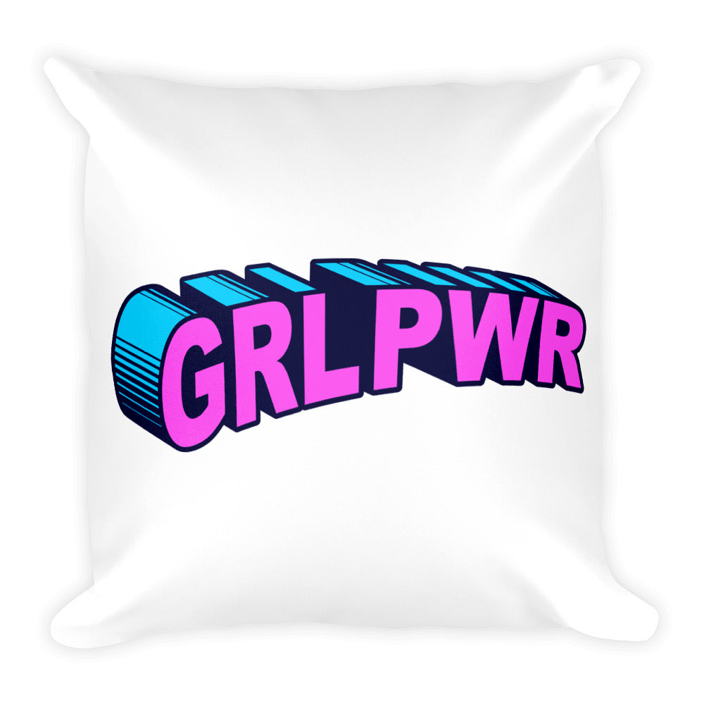 GRL PWR - Throw Pillow