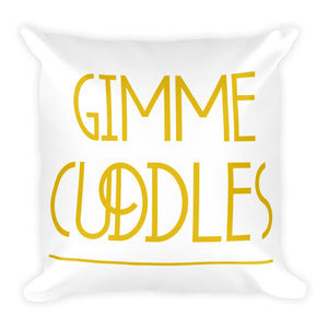 Gimme Cuddles - Throw Pillow