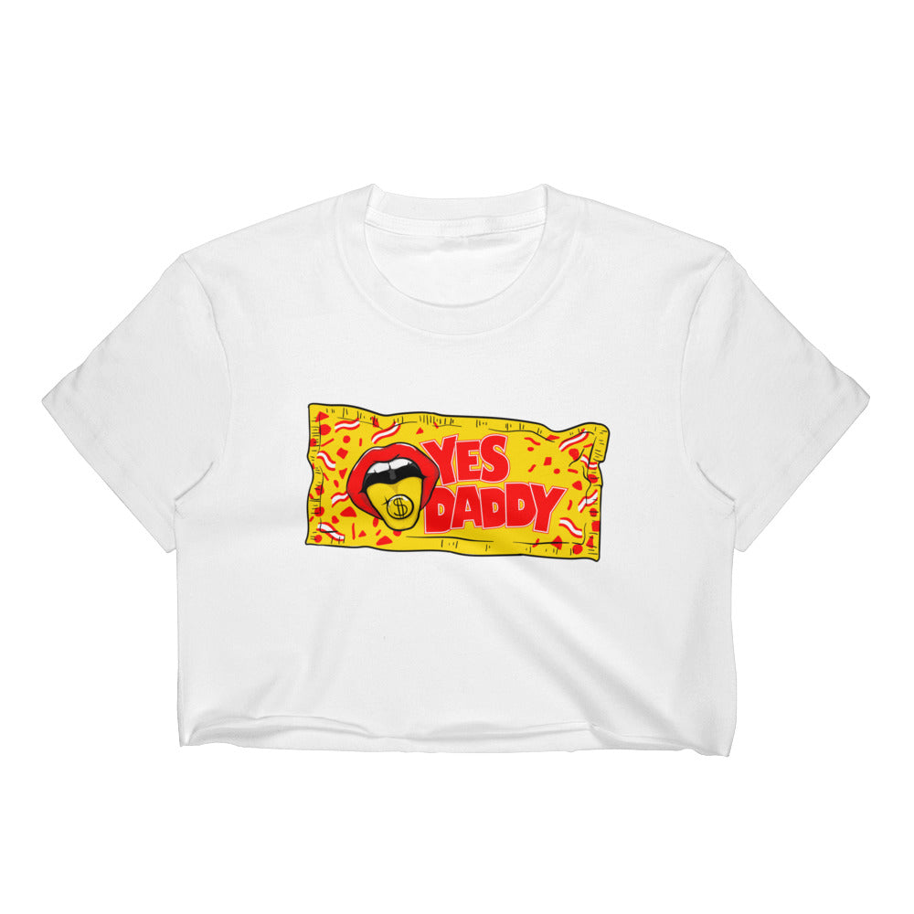 Yes, Daddy - Women's Crop Top