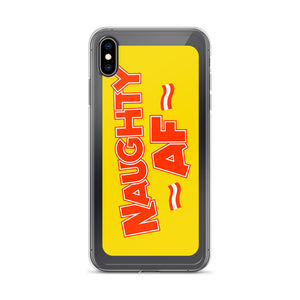 Naughty AF - iPhone Case