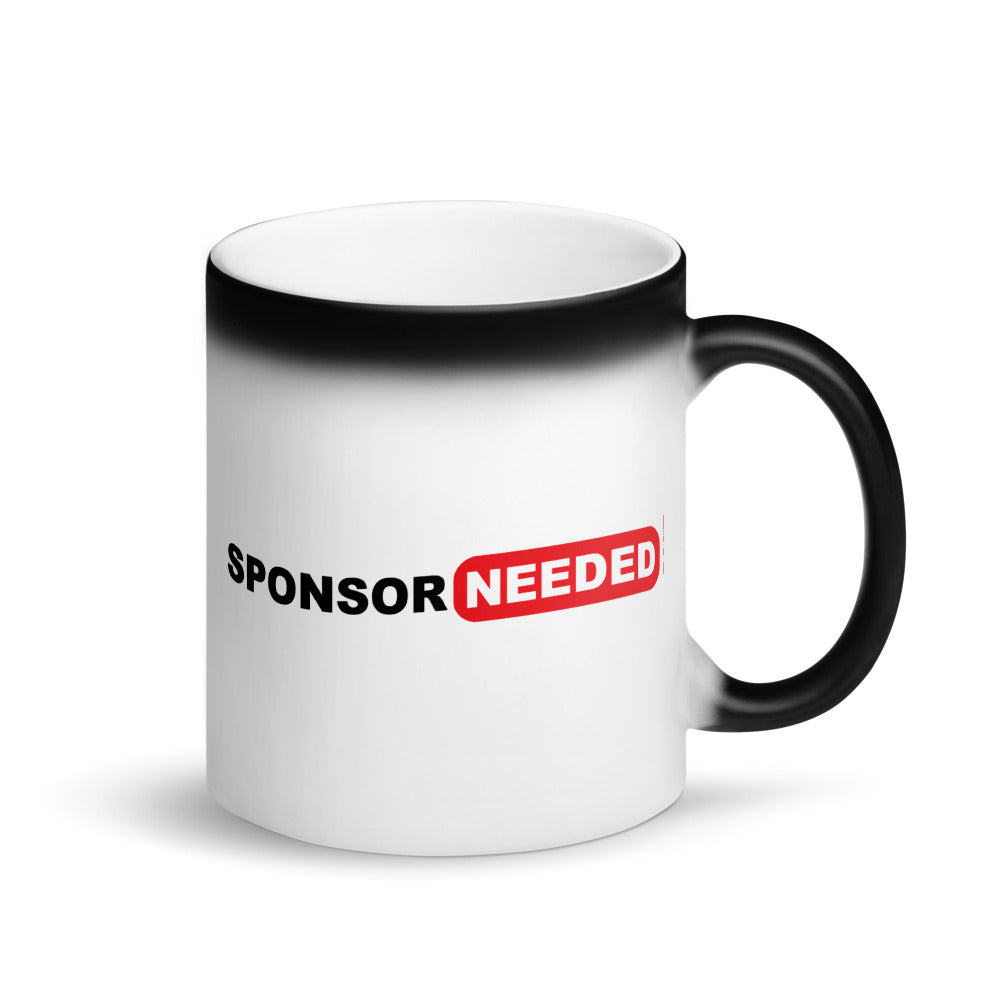Sponsor Needed - Magic Mug