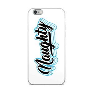 Naughty - iPhone Case
