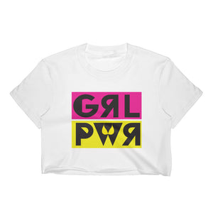 GRL PWR - Women's Crop Top