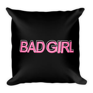 Bad Girl - Throw Pillow
