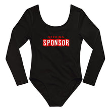Load image into Gallery viewer, Seeking Sponsor - Long Sleeve Bodysuit