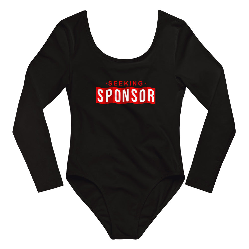 Seeking Sponsor - Long Sleeve Bodysuit