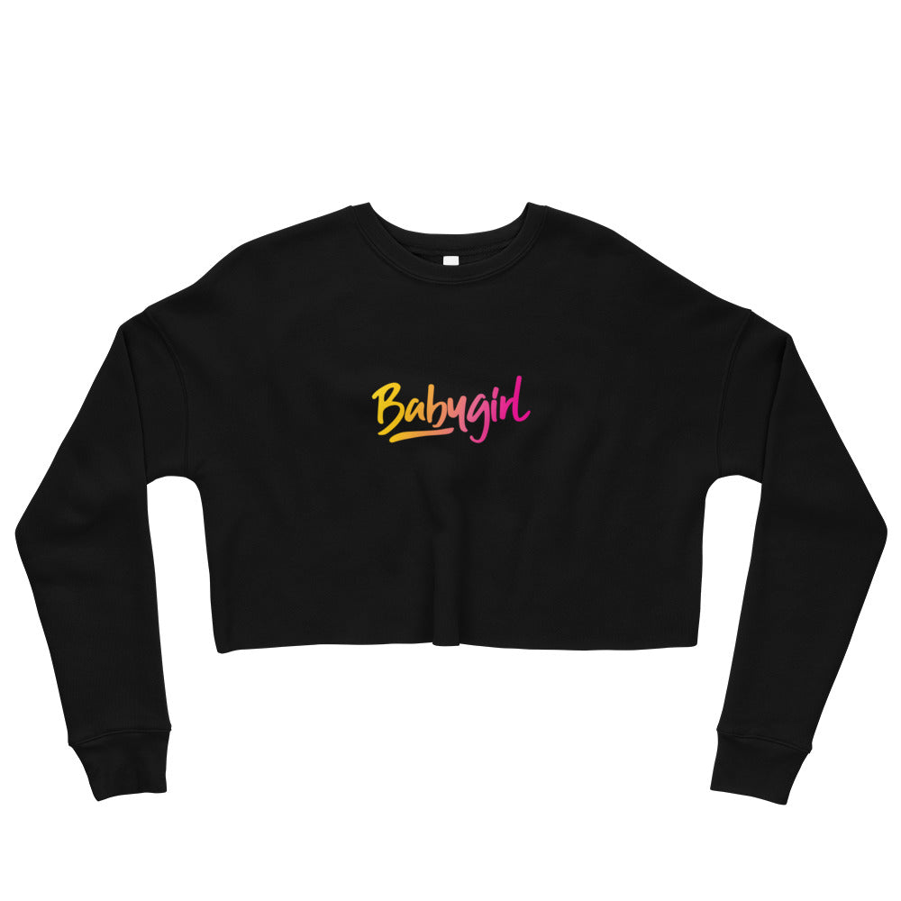 Baby Girl - Crop Sweatshirt