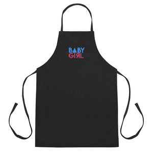 Baby Girl - Embroidered Apron