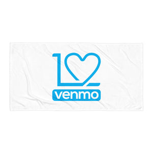 I Love Venmo - Towel