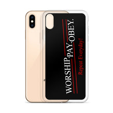 Load image into Gallery viewer, Worship Pay Obey - iPhone Case