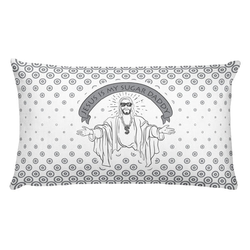 Jesus Is My Sugar Daddy - Premium Pillow