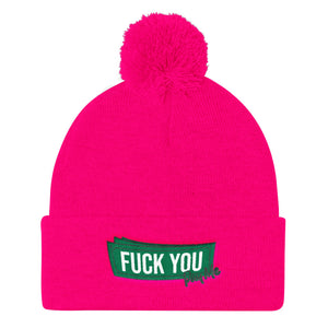 Fuck You Pay Me - Knit Beanie