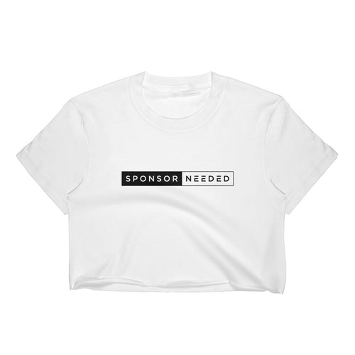 Sponsor Needed - Women's Crop Top