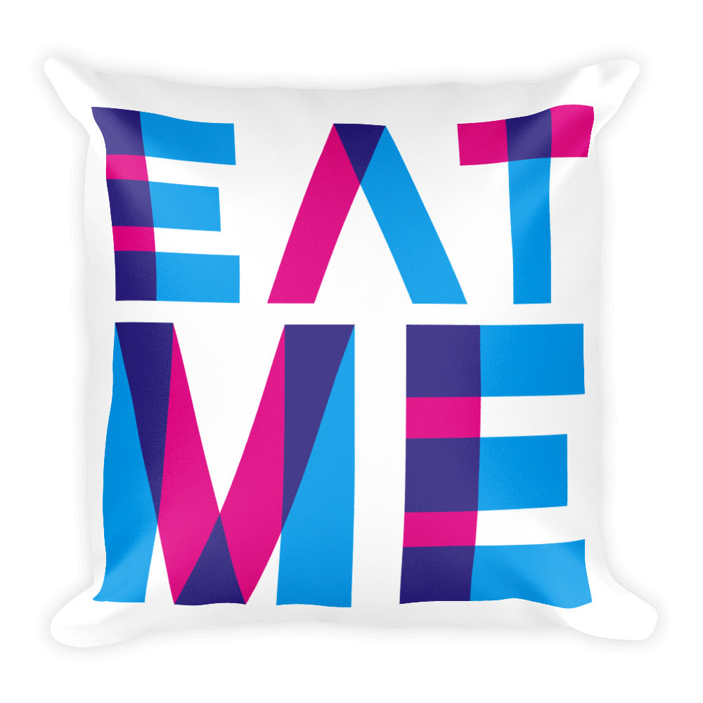 Eat Me - Throw Pillow