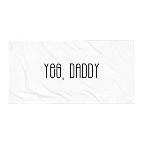 Yes, Daddy - Towel