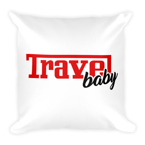 Travel Baby - Throw Pillow
