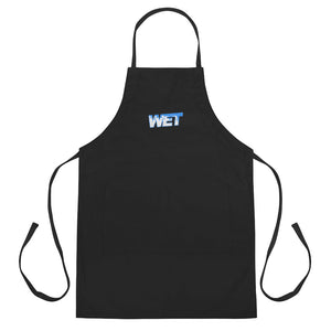 Wet - Embroidered Apron