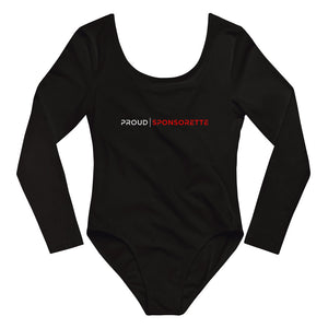 Proud Sponsorette - Long Sleeve Bodysuit