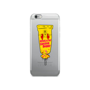 Jesus Is My Sugar Daddy - iPhone Case