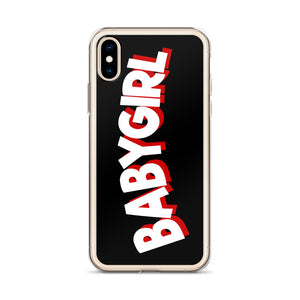Baby Girl - iPhone Cell Phone Case