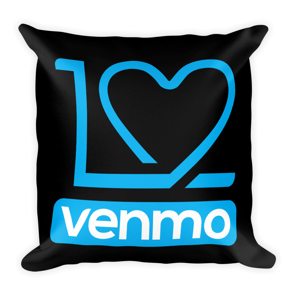 I Love Venmo - Throw Pillow
