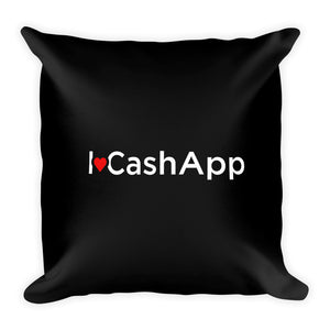 I Love Cash App - Throw Pillow